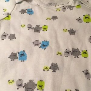 NWOT Monster onesie by Carter's